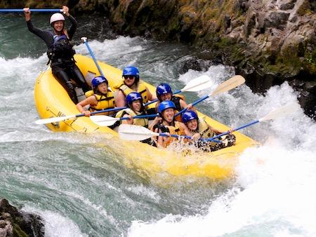 Raft Guide Teenage Girls