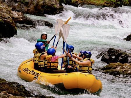 White Salmon River Raft