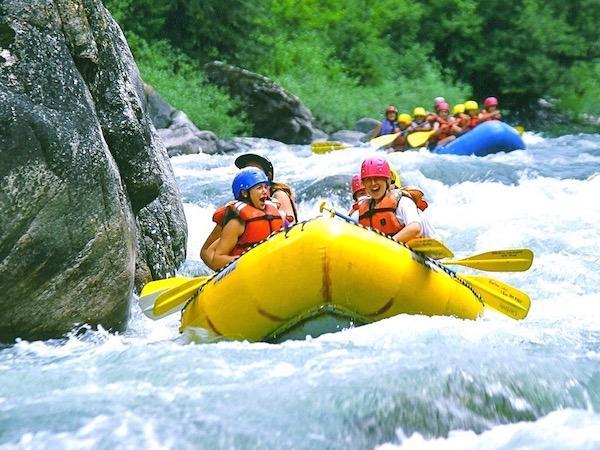 Montana Whitewater Rafting Girls Camp