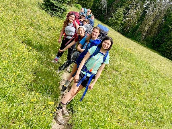 Backpacking Camp for Girls