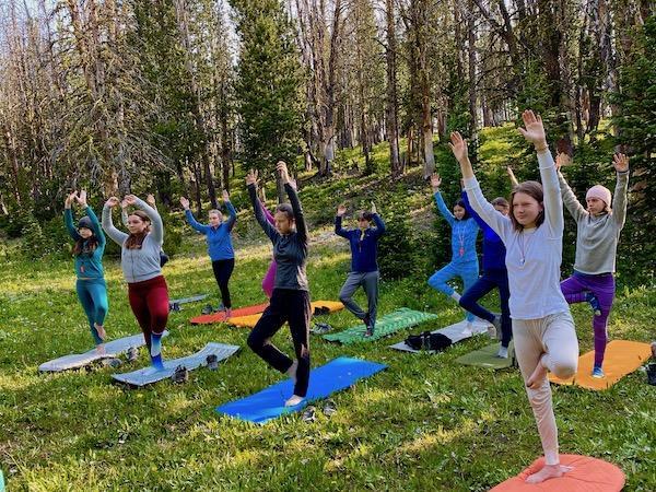 Alpengirl Summer Yoga Camp
