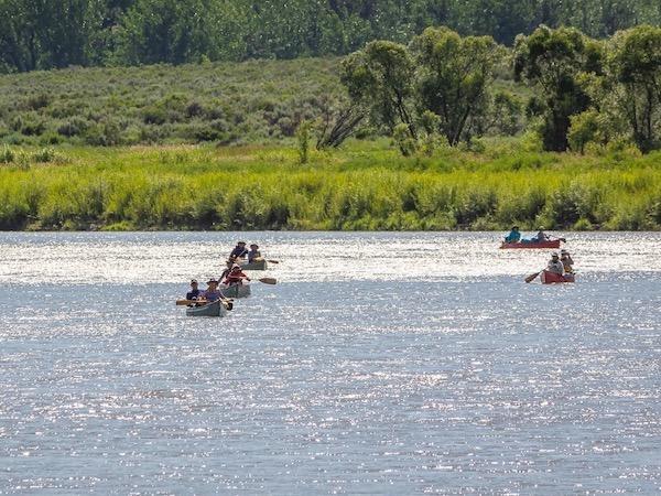 Upper Missouri River Canoe Trip