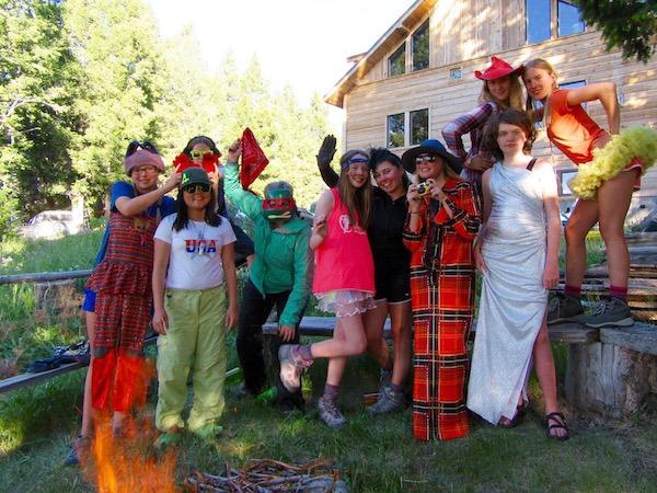 Summer  Girls Horse Camp Fun