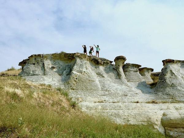 White Cliffs formation