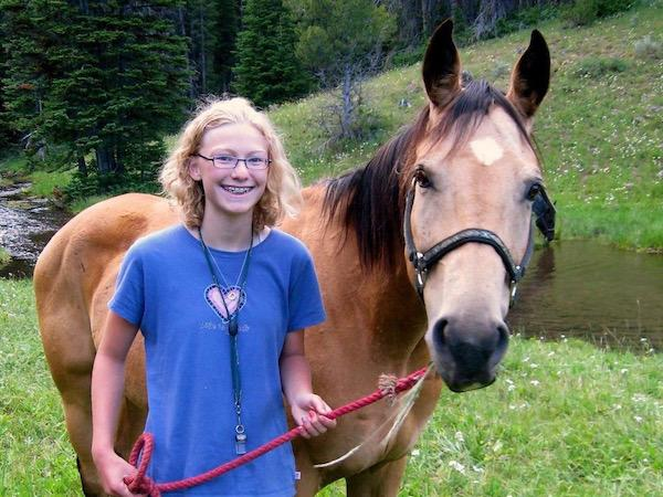 Girls Love Horses at Camp