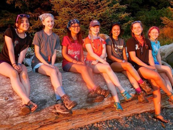 Coastal Backpacking Group in WA