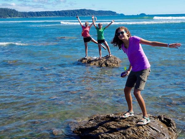 Pacific coast summer camp fun