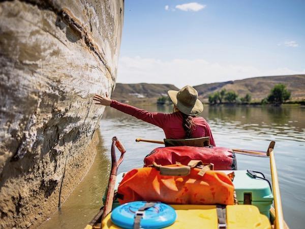 Canoe camp missouri river