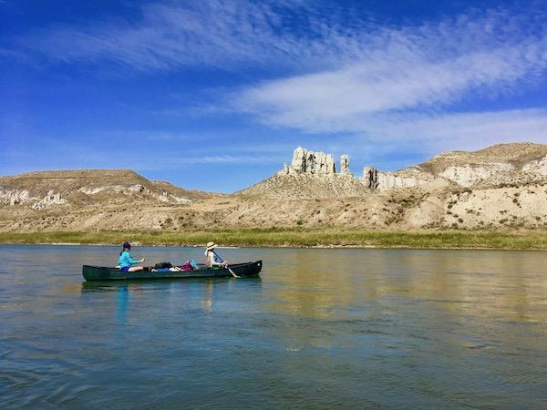 Missouri river adventure camp