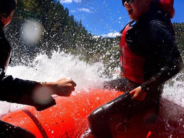 Whitewater Rafting Adventures for Teens Wyoming