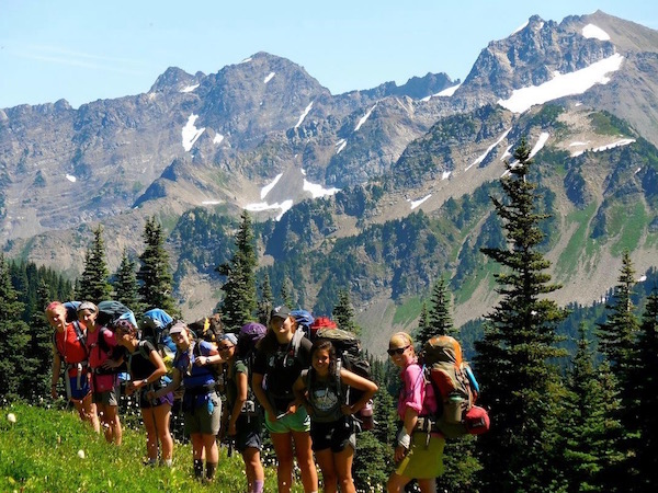 Backpacking on High Divide Trail