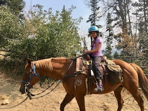 Horseback Riding Girls Summer Camp