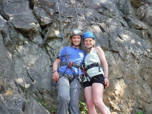 Rock Climbing Girls Summer Camp